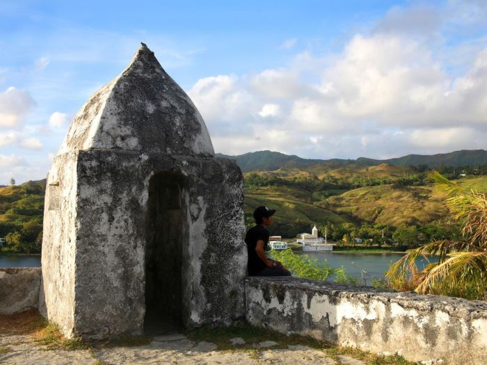 Fort Soledad, Umatac stone fortification